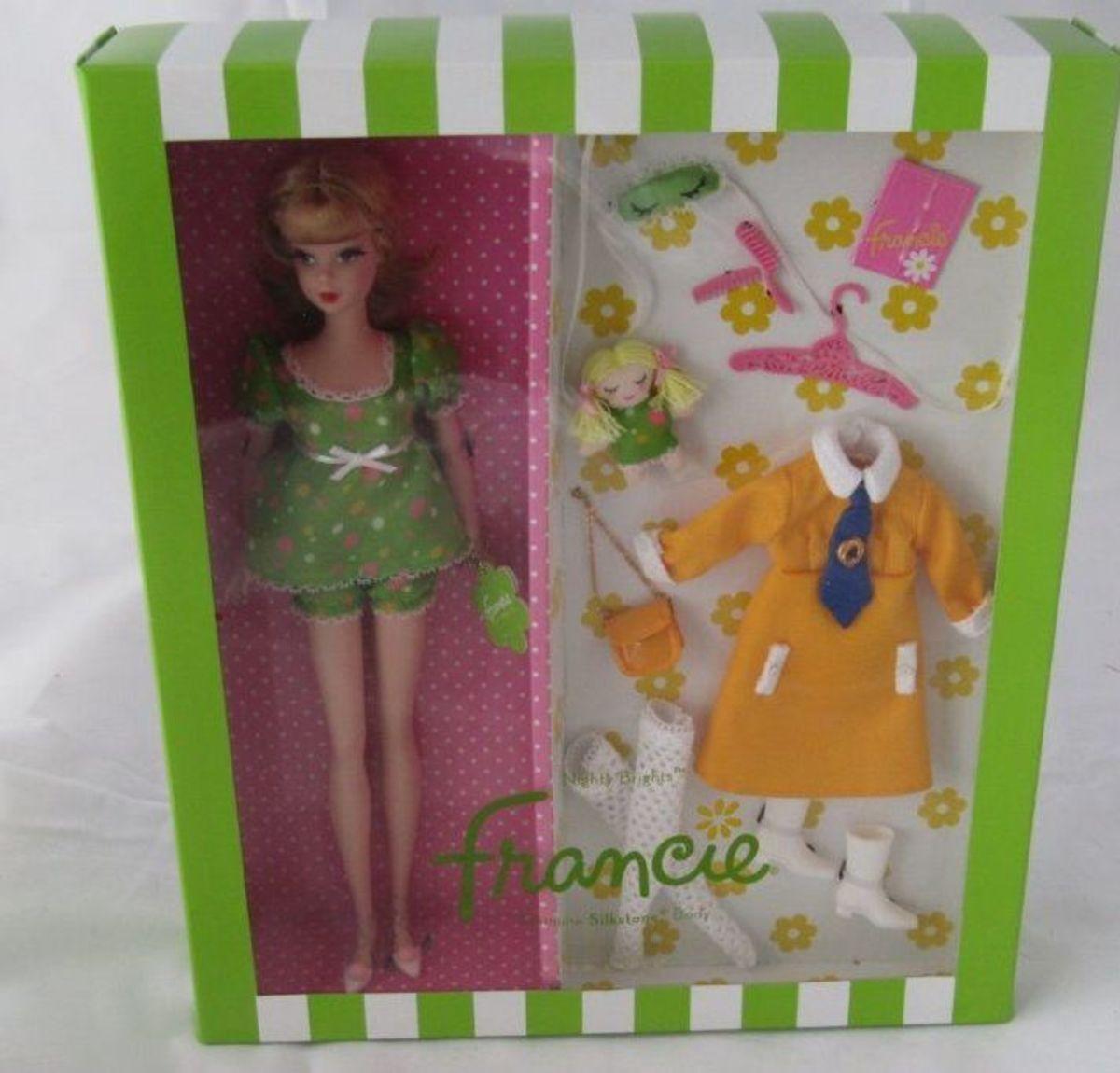 Muñeca Barbie Francie Silkstone con Accesorios (no esta Brillos} Nuevo En Caja