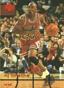 1998-UPPER-DECK-MICHAEL-JORDAN-MJx-TIMELINE-1st-Half-1-BASKETBALL-CARD