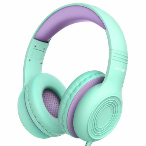 Mpow Kinder Kopfhörer Faltbar Stereo Musik Sharing Headsets Mikrofon Headphones