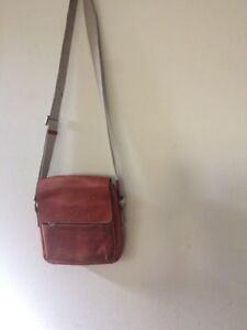 Image Is Loading Authentic Mulberry Vintage Leather Crossbody Bag 026904