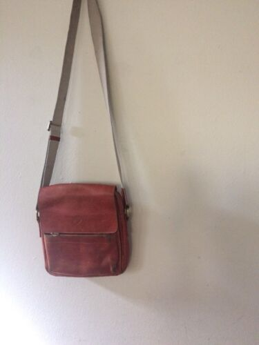 Authentic Mulberry Vintage leather crossbody bag #