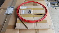 Real Long Push Pull Cable Teleflex 22 Foot Apx. Sawmill 2990-01-151-3612 Cp1r2t2
