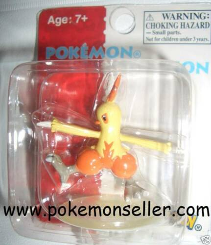 "* NEW COMBUSKEN POKEMON 2/"" FIGURE #005 TOMY GOTTA CATCH EM ALL GO COLLECTIBLE"