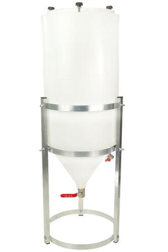Conical Fermenter 21 GAL//80L Winemaking Homebrewing Beer Wine Fermentation Tank