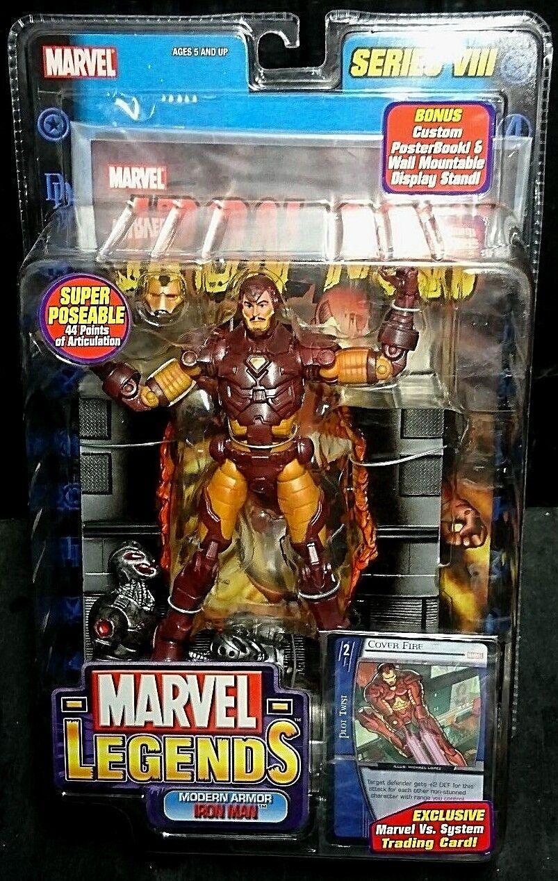 Marvel Legends Series VIII MODERN ARMOR IRON MAN New  Avengers Rare