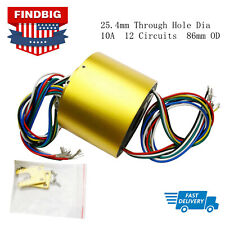 5mm  6 Circuit 2A for Wind Power Generator L Slip Ring Through Hole  dia