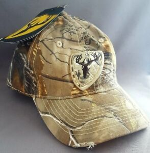 $$ NEW One Size RealTree Xtra Camo ScentBlocker Baseball Cap Hat Deer Adjustable
