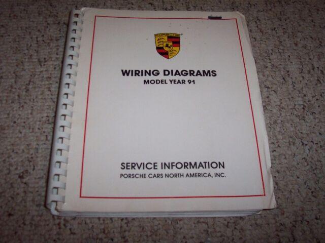 1991 Porsche 911 Carrera Turbo 964 Convertible Electrical