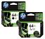HP-Genuine-64XL-Black-Color-Ink-Cartridge-In-Bag-HP-ENVY-Photo-7164-7855-7858 thumbnail 1
