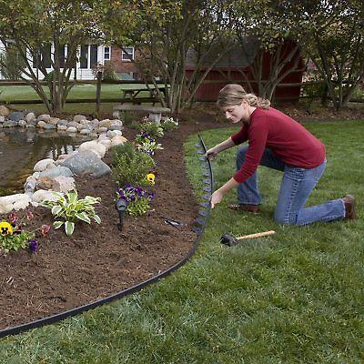 Gentil 100 FT No Dig Edging Kit Garden Edge Retainer Border Lawn Landscape  Landscaping | EBay