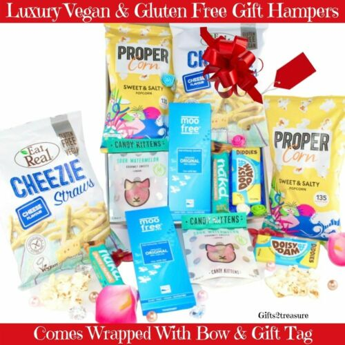 Christmas Gift Hamper Vegan Gluten Free Mum Birthday Movie Night In Snacks Sets