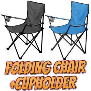 Folding Chair for Fishing Camping Beach Garden Picnic Festival Foldable Euros
