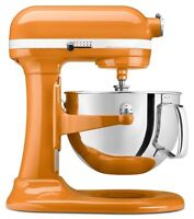 Kitchenaid Heavy Duty Pro 500 Stand Mixer Lift Ksm500pstg Metal 5-qt Tangerine on sale