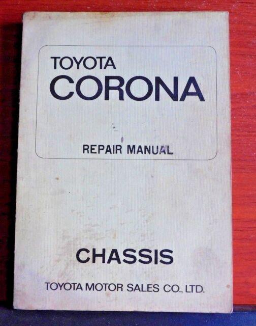 1970 Toyota Corona Repair Manual - Chassis