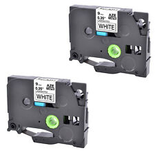 Compatible With Brother 2pk Tz 221 Tze221 St 5 Black On White Label Tape