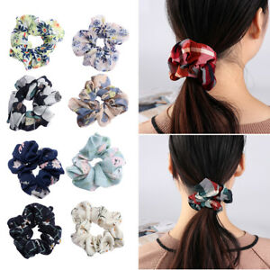 Accessories-Ring-Elastic-Hair-Rope-Scrunchie-Ponytail-Holder-Print-Hair-Band