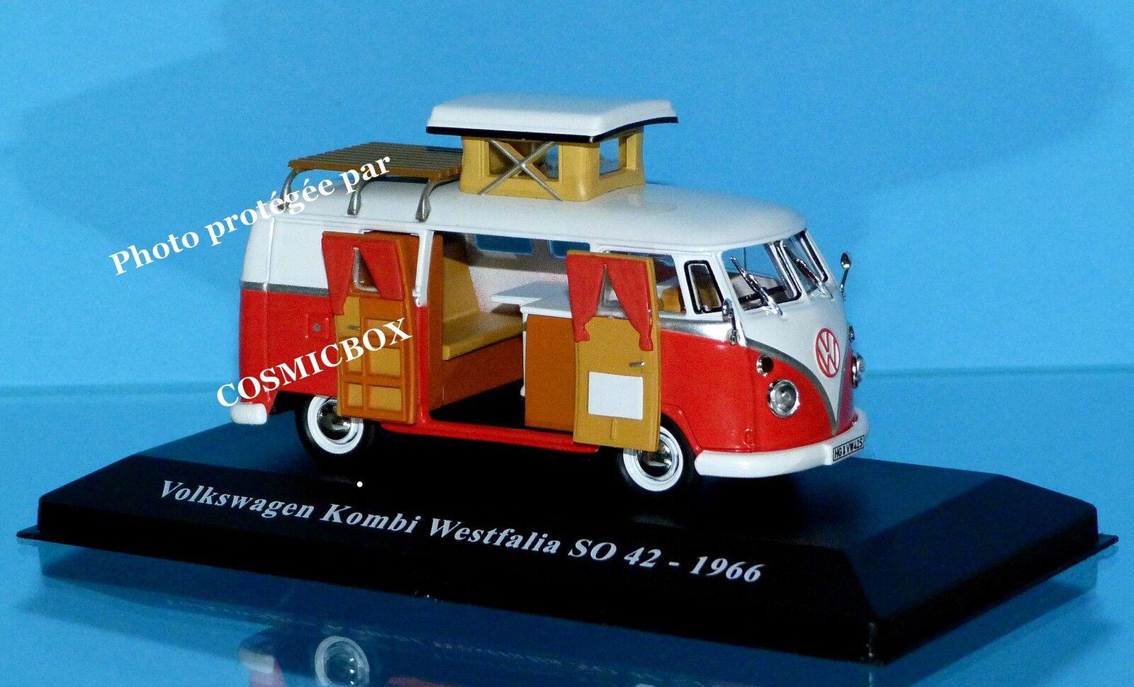 Camping-car VOLKSWAGEN KOMBI WESTFALIA SO 42 vw 1966 combi caravan camper van t5