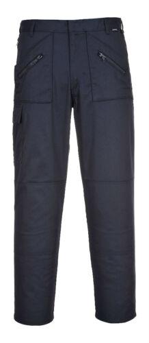 PortWest Hommes Action Pantalon Coussin Genou Poche Rég//Haut Multiple Couleur /&