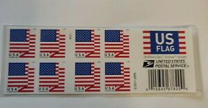 USPS US Flag 2017 Forever Stamps - 40 Pieces two booklets of 20