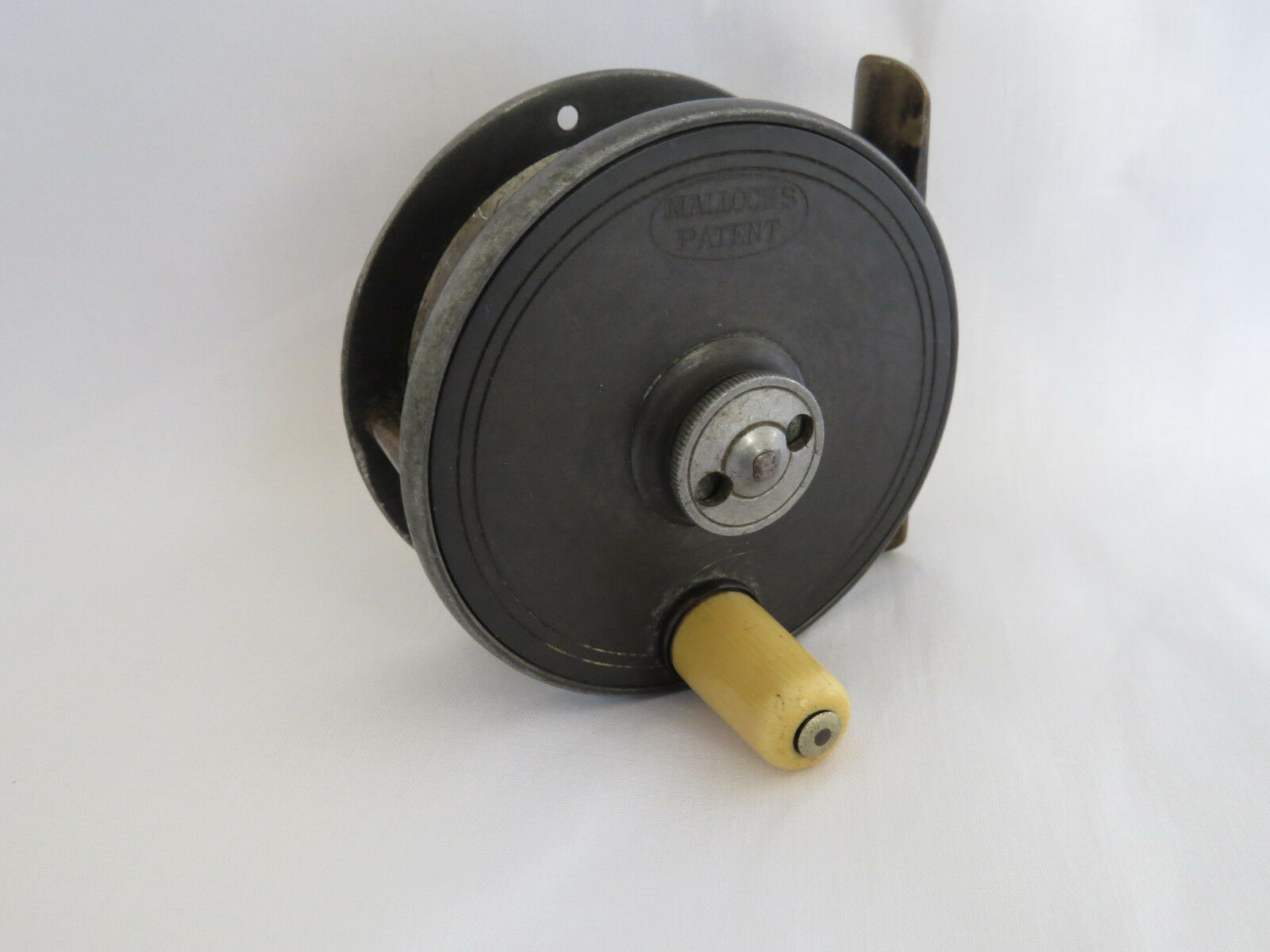 MALLOCHS  PATENT 3  CENTRE BRAKE ALLOY TROUT FLY REEL