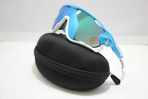 d6707ed7676 Image is loading NEW-OAKLEY-JAWBREAKER-SUNGLASSES-SKY-w-SAPPHIRE-IRIDIUM-