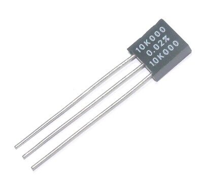QTY=1 10K 10K 0.02/% Vishay Voltage Divider Resistors Precission Foil 300144