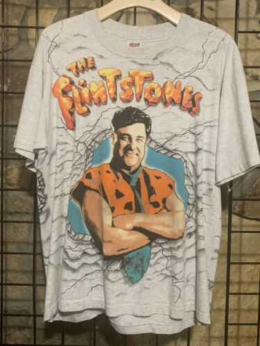 The flinstones All Over Print Vintage Shirt
