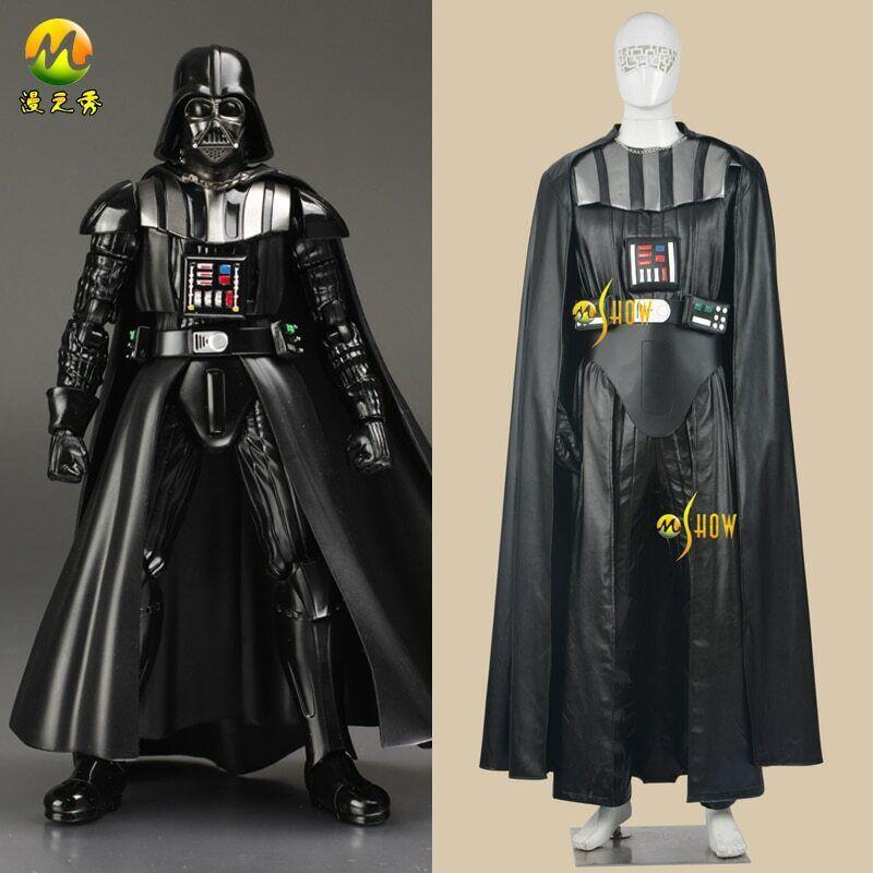 Star Wars Jedi Anakin Skywalker Darth Vader Full Set Suit Cosplay Costume Outfit