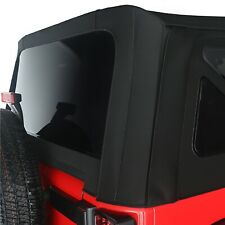 Rugged Ridge 1373735 Black Replacement Soft Top For Jeep Wrangler Jk 2 Door Fits More Than One Vehicle