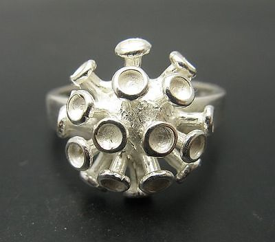 R000651 EXTRAVAGANT STYLISH STERLING SILVER RING SOLID 925