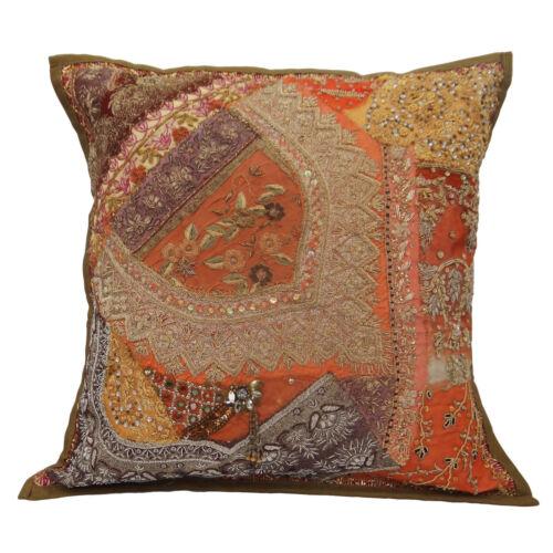 Decorative Cushion Cover Beaded Home Decor Throw Pillow coton cas 16-Pl22579A