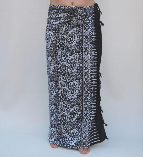 Sarong SAL508P Premium Qualität in Übergröße Pareo Sari Wandbehang Wickelrock