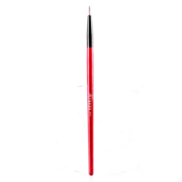 1Pc Thin Eyeliner Lip Liner Makeup Brush High-quality Red Handled Cosmetic Brush