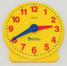 Learning Resources LER 2095 12 Hour Clock 5 Inch R7126