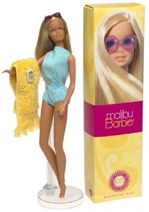 Bambola Barbie MALIBU Riproduzione 2001 del 1971 Bambola N. 56061