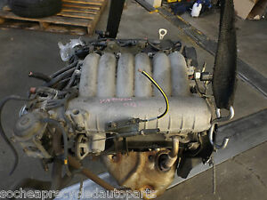 MITSUBISHI MAGNA 2000 MODEL V6 ENGINE 24 VALVE 3.5 LITRE SOLD WITH