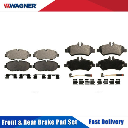 Front /& Rear 8 PCS Wagner Disc Brake Pads Set For DODGE SPRINTER 2500 2008-2009