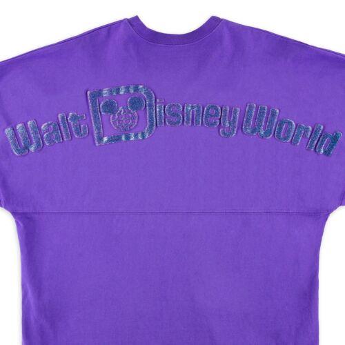 Walt Disney World Purple Potion Disney Spirit Jersey Pullover Top Shirt Tee M