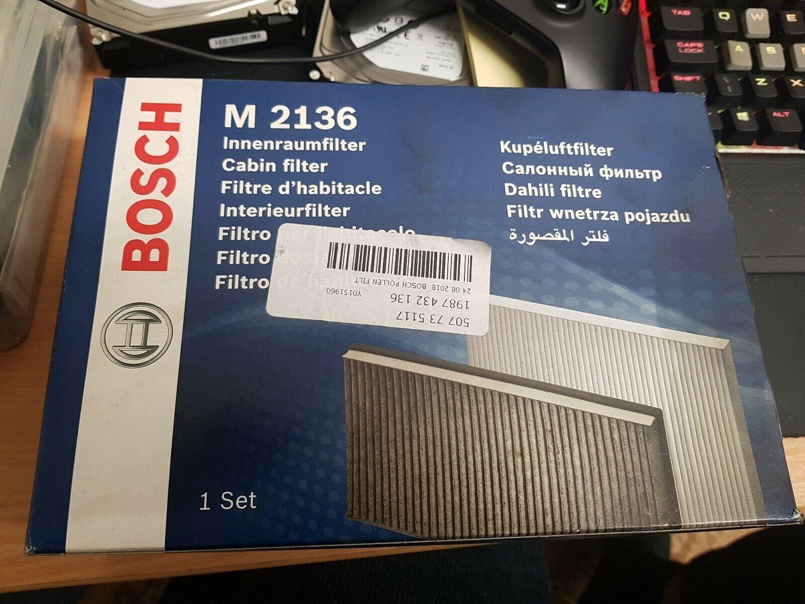 Qualité cabine X 2 Filtre MS-6370