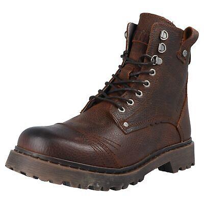 Yellow Cab STONE 15445 Herren Boots Stiefel Outdoor Freizeit Leder Schuhe Braun | eBay