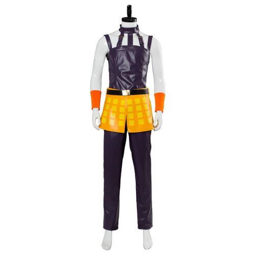 Golden Wind Narancia Ghirga Halloween Costume Cosplay JoJo/'s Bizarre Adventure