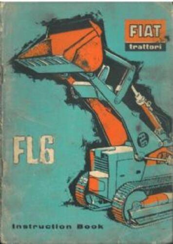 Fiat Tractor de orugas Fl6 Manual del operador