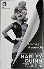 BATMAN Nero Bianco Harley Quinn Statua Figurina Paul Dini 1st EDIZIONE DC Direct