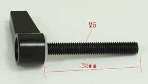1pcs Metal M5 35mm length Knob Screw L Shape Screw For 5D2/3 Rod Rail Rig Clamp