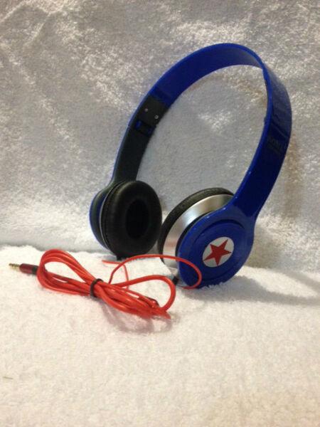 Getrouw Somk Stereo Hd On Ear Lightweight Headphones Specify#red,black,white, Blue #732 De Mondholte Schoonmaken.