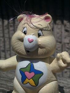 Vintage-1980s-MOVIE-TRUE-HEART-Poseable-CARE-BEARS-Figure-Kenner-3-034-Figure-White