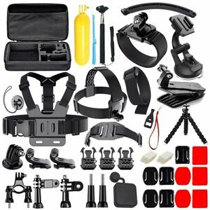 50 in 1 Action Camera Accessories Kit for GoPro Hero 2018 GoPro Hero6 5 4 3 I3O7