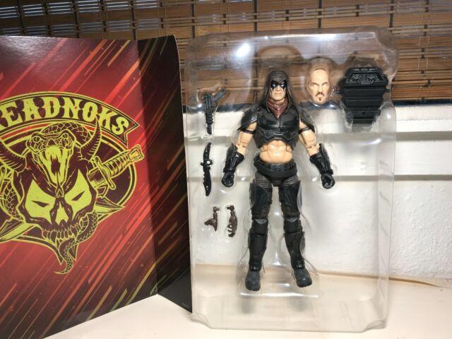 "GI Joe Classified Series Zartan Figure 6"" Cobra Dreadnoks Hasbro 100% complete"