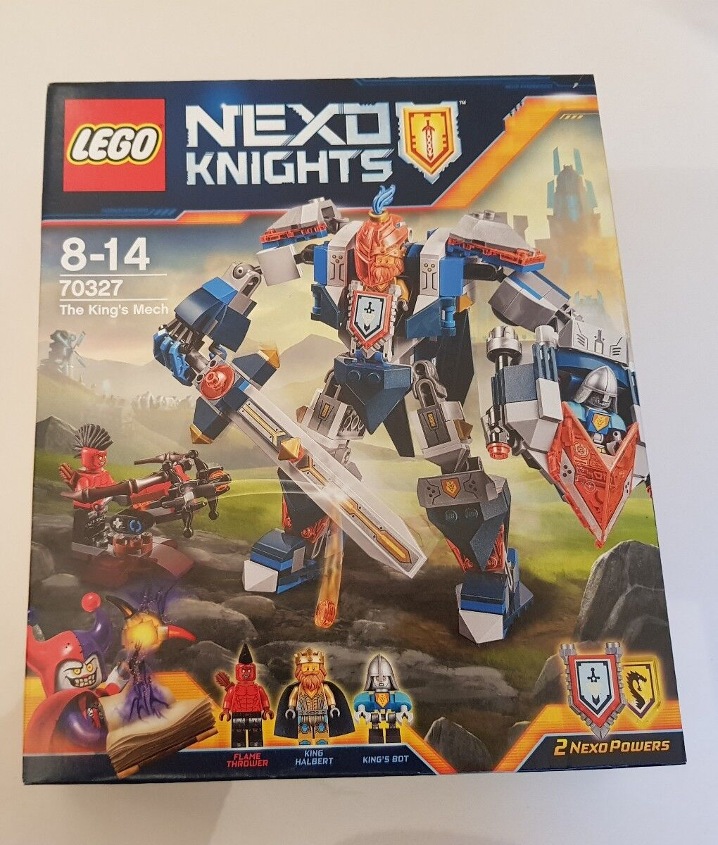 LEGO NEXO KNIGHTS 70327 THE KINGS MECH SET BRAND NEW IN BOX SEALED