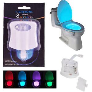 Toilette Licht Wc Nachtlicht Led Lampe Sitz Beleuchtung Mit